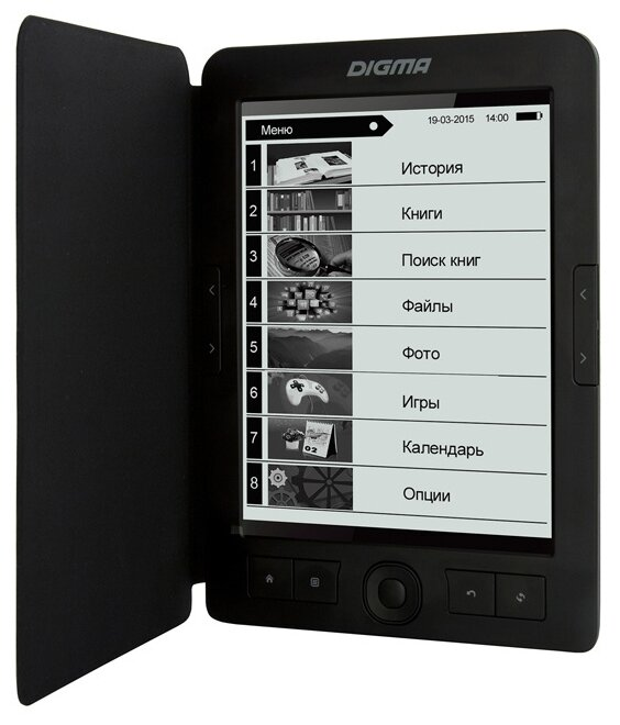 Электронная книга Digma E68B Black