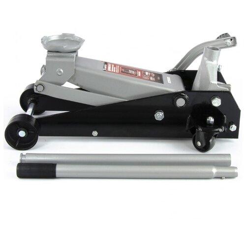 Домкрат гидравлический подкатный, 3,5 т, высота подъема 145-490 мм, с педалью Matrix Master