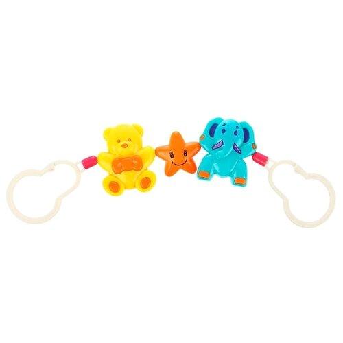 Купить Растяжка Крошка Я Мишка, звезда, слоник (3601760) желтый/оранжевый/голубой, Подвески