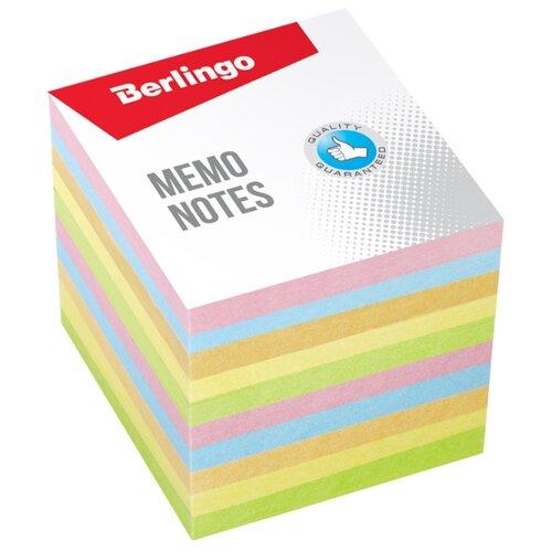 Berlingo блок для записи Standard 9 х 9 см (LNn_01259) мультиколор штора для ванной dasch la vita кораллы цвет мультиколор 178 х 200 см