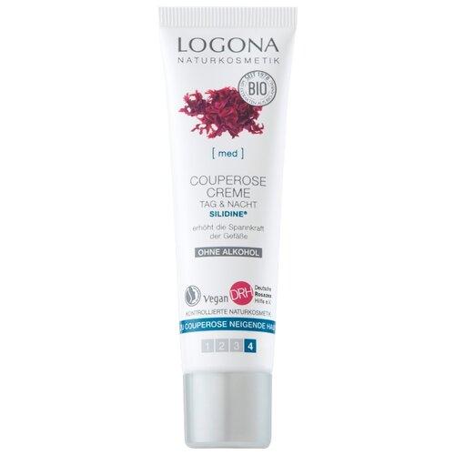 Logona Couperose Cream Day & Night Антикуперозный крем для лица c комплексом Silidine, 30 мл