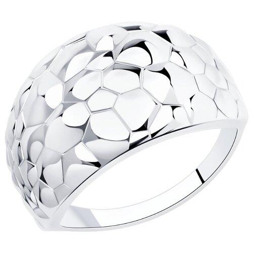 Diamant Кольцо из серебра 94-110-00715-1, размер 18
