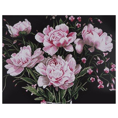 Фото - Lanarte Набор для вышивания Розовые пионы 53 x 43 см (0021224-PN) lanarte набор для вышивания индианка 39 x 49 см 0008160 pn