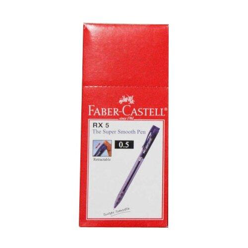Купить Faber-Castell Набор шариковых ручек автоматических RX5 0.5 мм, 10 шт., черный цвет чернил, Ручки