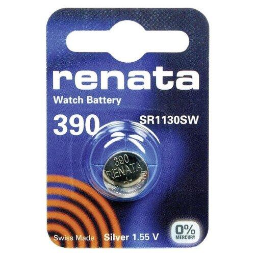Фото - Батарейка Renata 390 SR54, 1 шт. батарейка renata 335 1 шт
