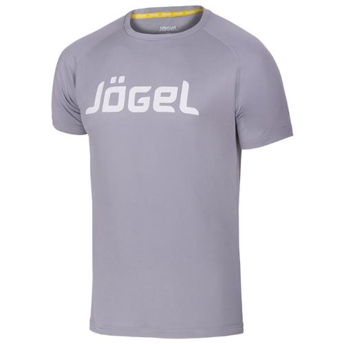 Купить Футболка Jogel JTT-1041 размер YL, серый/белый, Футболки и топы
