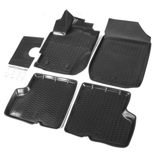Комплект ковриков RIVAL 14707001 Renault Kaptur 5 шт. черный