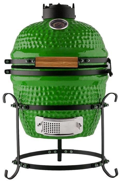 Керамический гриль 35х40,5х55см зеленый
