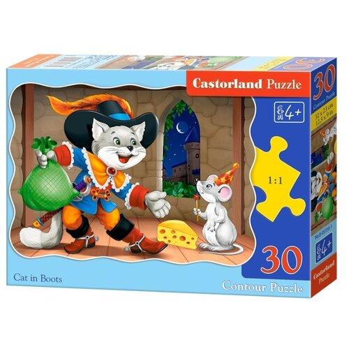 Купить Пазл Castorland Cat in Boots (B-03730), 30 дет., Пазлы