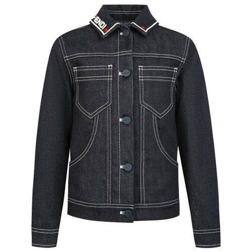 Куртка FENDI JUA055A6IQ размер 140, F0QA2 синий футболка fendi размер 140 синий