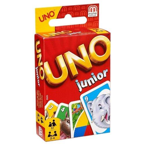 Настольная игра Mattel Uno Для детей 52456 mattel games 52456 уно для детей