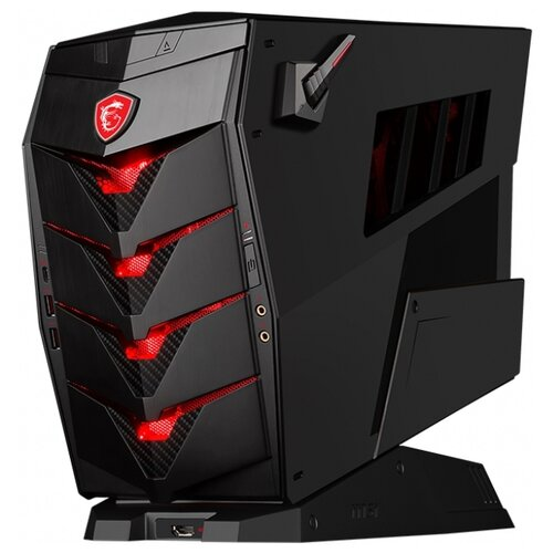 Настольный компьютер MSI Aegis 3 8RC-206RU (9S6-B91811-206) Midi-Tower/Intel Core i7-8700/8 ГБ/128 ГБ SSD/1024 ГБ HDD/NVIDIA GeForce GTX 1060/Windows 10 Home черный