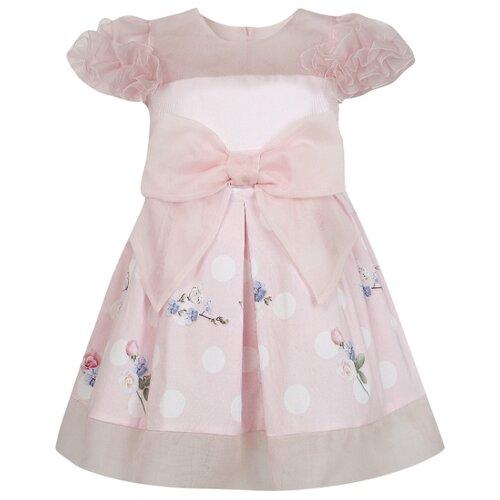Платье Lapin House размер 74, розовый