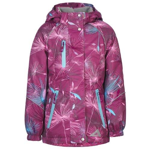 Фото - Куртка Oldos Миранда ASS202T1JK26 размер 98, вишневый куртка oldos мальта law192t106jk размер 98 зеленый