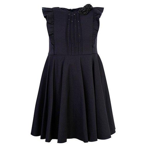 Платье Tre Api размер 152, синий шубка tre api