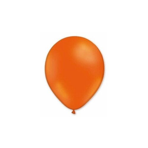 Набор воздушных шаров MILAND Пастель 21 см (100 шт.) оранжевый
