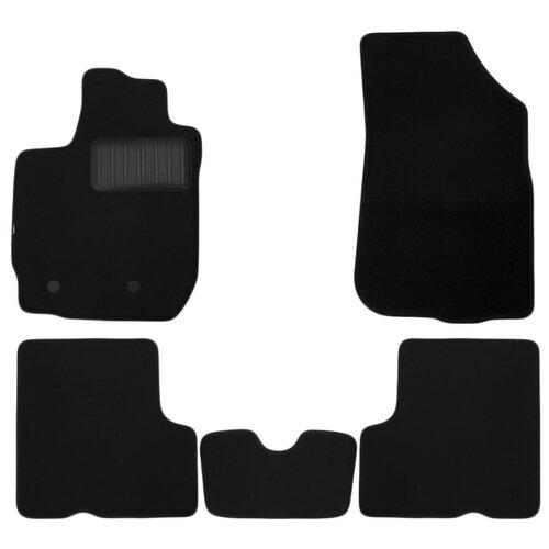 Комплект ковриков KLEVER 03413322110kh для Renault Duster 5 шт. черный