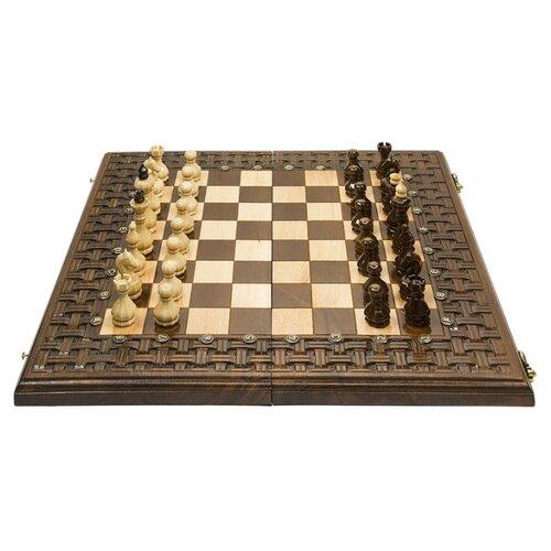цена на Haleyan Шахматы+нарды резные Армянский Орнамент 50