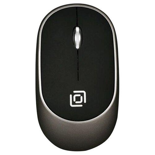 цена Мышь OKLICK 535MW Black-Grey USB онлайн в 2017 году
