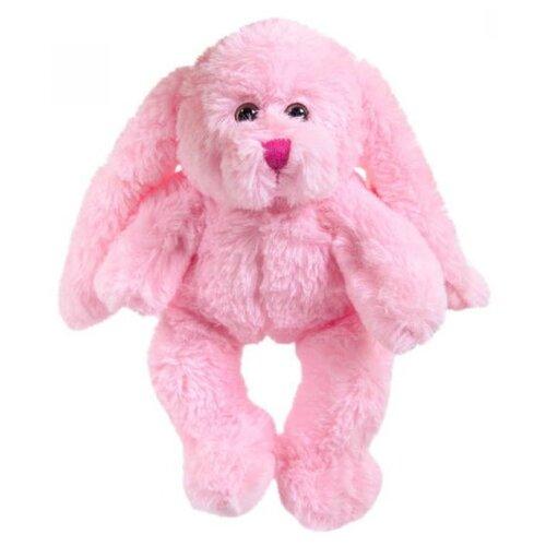Мягкая игрушка ABtoys Кролик розовый 15 см