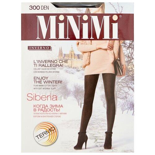 Фото - Колготки MiNiMi Siberia, 300 den, размер 2-S/M, nero (черный) колготки minimi elegante 40 den размер 2 s m nero черный
