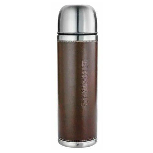 Классический термос Biostal NYP-1000P 2 пробки, 1 л коричневый