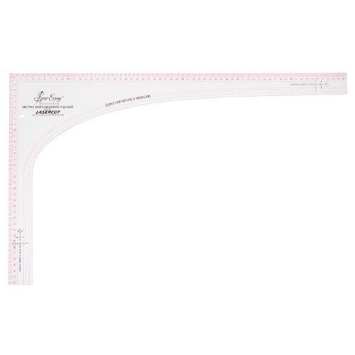 Купить Hemline Лекало портновское Sew Easy NL4197 угловое, 60.5 х 36.5 см прозрачный, Инструменты и аксессуары