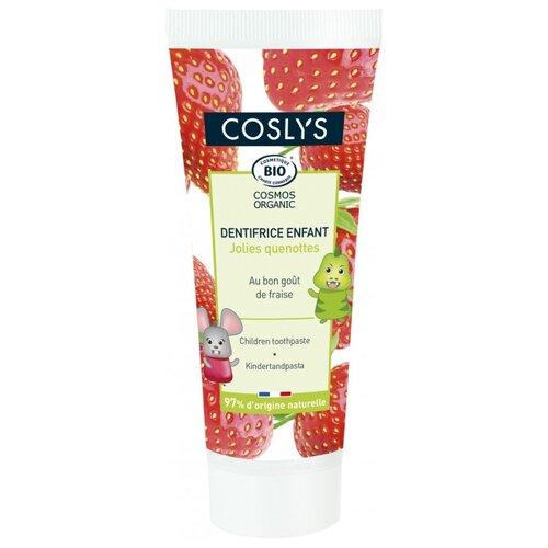Купить Зубная паста Coslys Клубничная 2+, 50 мл, Гигиена полости рта