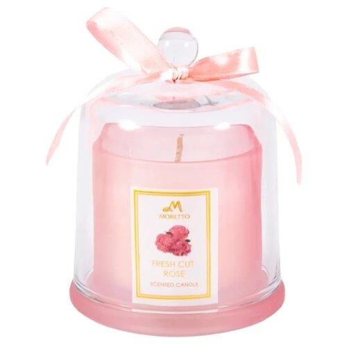Свеча MORETTO Роза 94130 розовый