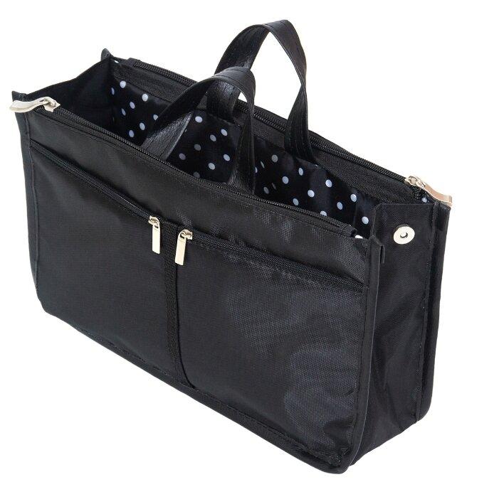 Купить Органайзер для сумки всё на местах SOFIA 1006066, черный по низкой цене с доставкой из Яндекс.Маркета