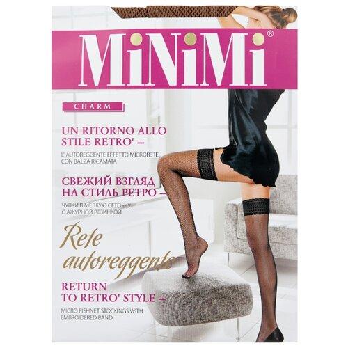 цена Чулки MiNiMi Rete, размер 2-S/M, daino (коричневый) онлайн в 2017 году