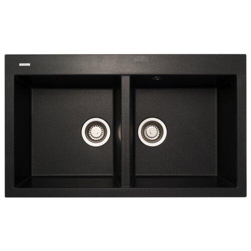 Фото - Врезная кухонная мойка 86 см Longran Amanda AMG 860.500 20 onyx/10 врезная кухонная мойка 78 см longran amanda amg 780 500 15 lava 40