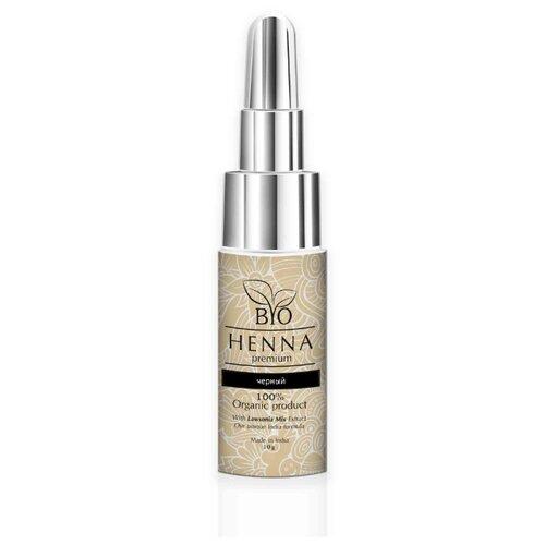 Bio Henna Хна для бровей во флаконе, 10 г черный bio henna скраб пилинг для бровей soft peeling