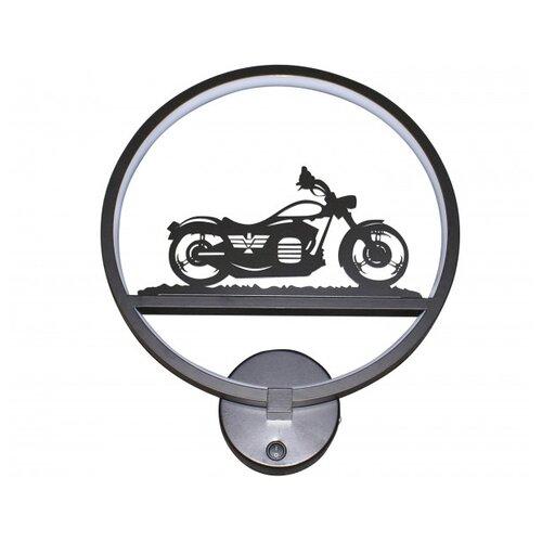 Фото - Бра Kink light Мотоцикл черный (074110,5), с выключателем, 18 Вт бра kink light мотоцикл черный 074110 5 с выключателем 18 вт