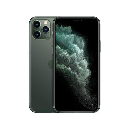 Смартфон Apple iPhone 11 Pro 256GB темно-зеленый (MWCC2RU/A) смартфон apple iphone 11 pro 256gb тёмно зелёный