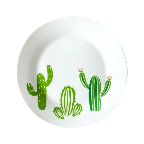 Фото - Сотвори Чудо Тарелка Кактусы 20 см белый тарелка сотвори чудо линия 20 см белый