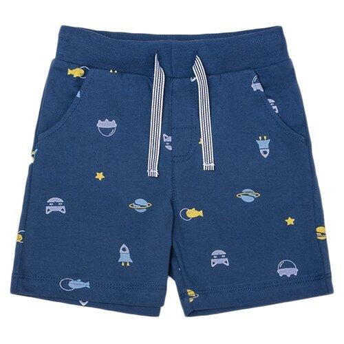 Купить Шорты crockid КР 4804 размер 74, темно-синий, космический микс к246, Брюки и шорты