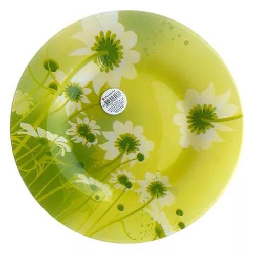 Pasabahce Тарелка обеденная Camilla 26 см зеленый/желтый тарелка pasabahce бохо цвет зеленый диаметр 26 см
