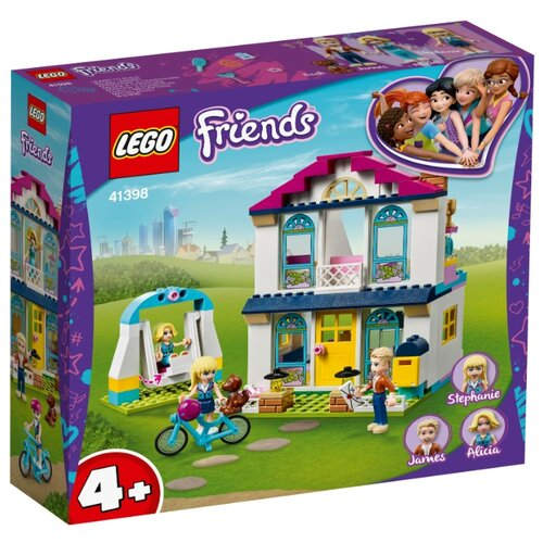 Купить Конструктор LEGO Friends 41398 Дом Стефани, Конструкторы