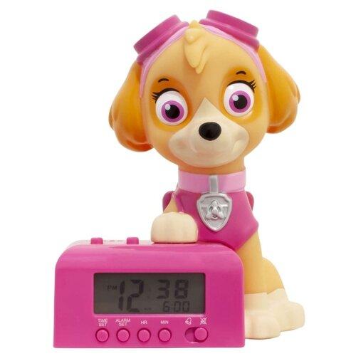 Часы настольные BulbBotz PAW patrol Skye розовый