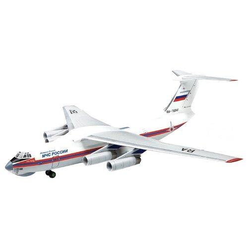 Купить Сборная модель ZVEZDA Российский транспортно-десантный самолет Ил-76ТД МЧС России (7029) 1:144, Сборные модели