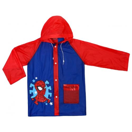 Купить Дождевик Сима-ленд размер S(92-98), синий/красный, Пальто и плащи