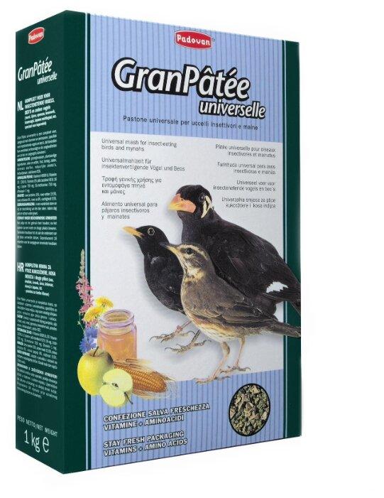 Padovan корм Granpatee Universelle для насекомоядных птиц