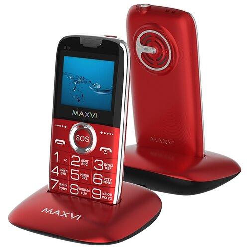 Фото - Телефон MAXVI Maxvi B10 красный телефон maxvi x650 красный