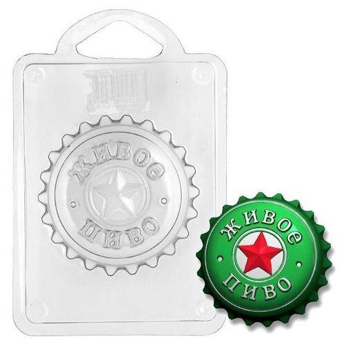 Форма для мыла Выдумщики.ru Живое пиво пластик форма для мыла выдумщики лапка