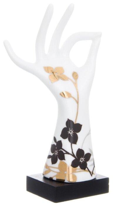 Подставка для колец Elan gallery Правая рука, белый