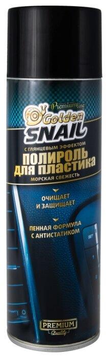 Golden Snail Полироль для пластика салона автомобиля Морская свежесть GS3002, 0.65 л