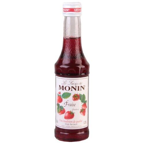 Сироп Monin Клубника 0.25 л