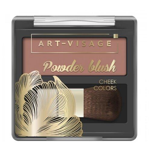 ART-VISAGE Компактные румяна Powder Blush 303 cacao