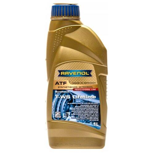 Трансмиссионное масло Ravenol ATF T-WS Lifetime 1 л трансмиссионное масло totachi atf ws 1 л 1 кг
